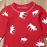 Don't Moose With Me Red Jumpsuit-2